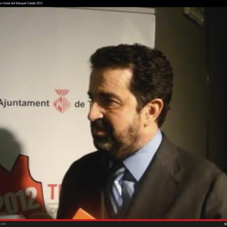 Presentació Terrassa Ciutat del Bàsquet Català 2012