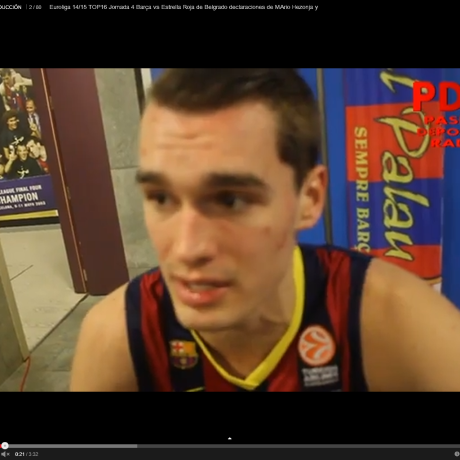 Declaraciones Hezonja y Abrines Euroleague Top16: Barcelona-Estrella Roja